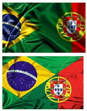 Bendera Portugal Brasil Agen Bola